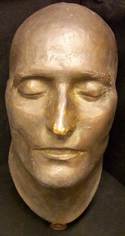 131 best death masks of famous people images on pinterest masks face masks and faces. Black Bedroom Furniture Sets. Home Design Ideas
