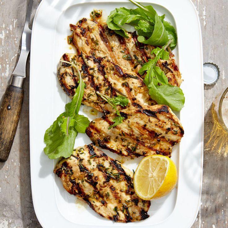 Rosemary-Lemon Chicken Breasts | Healthy Recipes