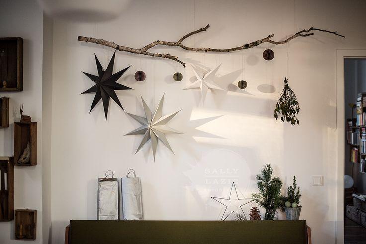 Ast Sterne Mit Bildern Weihnachtliches Zuhause Aste