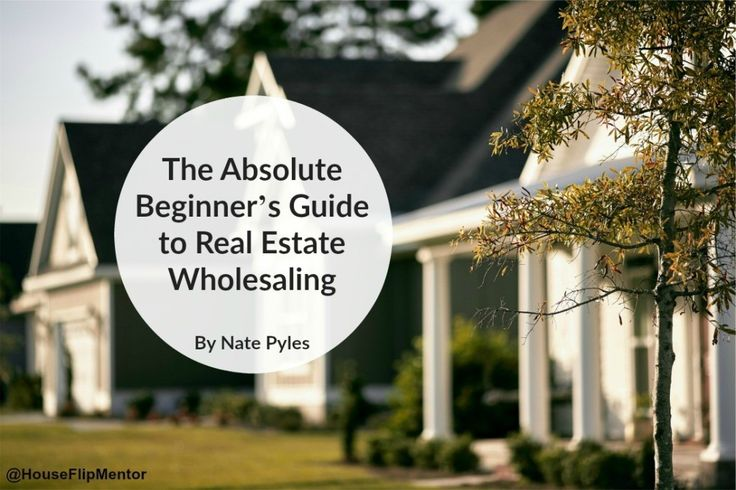 The beginners guide to real estate wholesaling.....     ..    ........................................................ Please save this pin... ........................................................... Because For Real Estate Investing... Visit Now!  OwnItLand.com