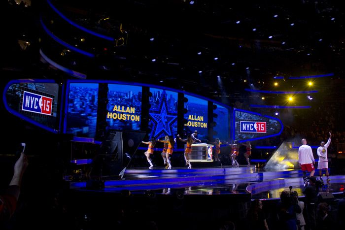 NBA All-Star WKND 2015: At the Sprint N.B.A. All-Star Celebrity Game on Friday, stars and players like comedian Kevin Hart, Allan Houston of the New York Knicks, and Little League phenom Mo'ne Davis battled it out at Madison Square Garden.