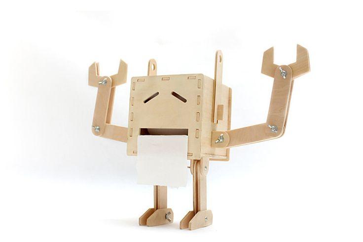 DIY Orz Robot Tissue Box - Nest of Design