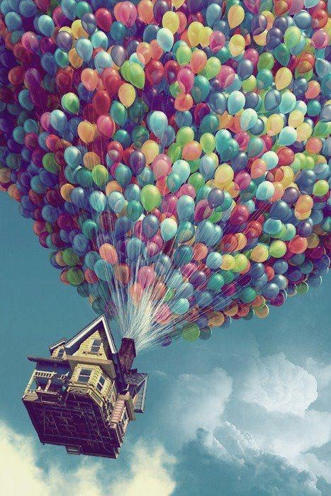 Up, up and away from monotony.