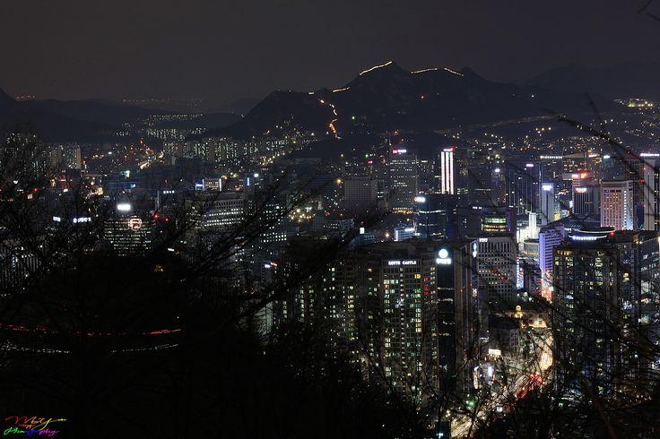 Seoul Night View ~ Seoul, South Korea