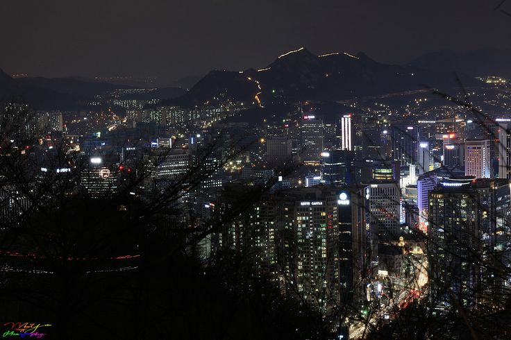 Seoul Night View ~ Seoul, South Korea