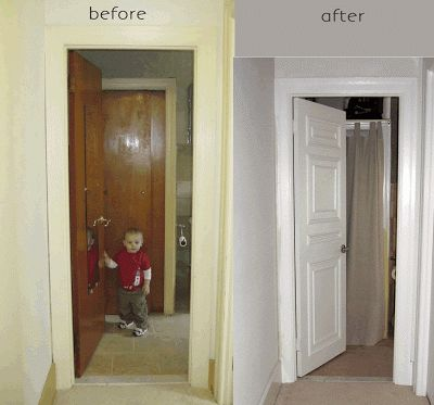 Our Old Abode: Hollow Core Door Makeover...round 2 (how to cover a giant hole in your door)