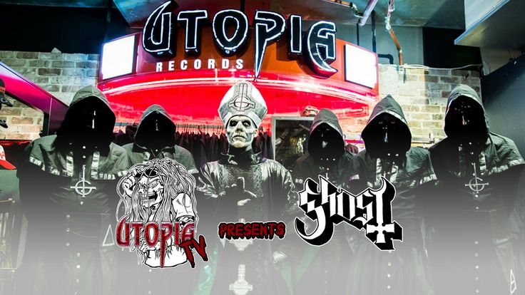 Utopia TV - Ghost at Utopia and Interview 2014 - http://vimeo.com/85716453