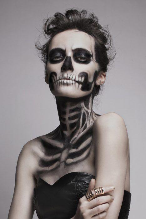 disfraz mujer halloween catrina