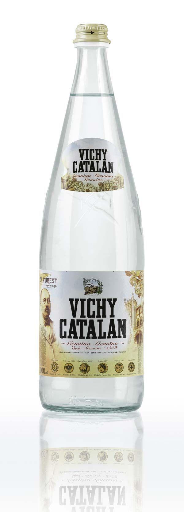 Vichy Catalán, agua mineral natural carbónica
