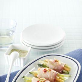 Involtini crudi di pesce spada, melone e cetriolo - Scuola di cucina | Donna Moderna