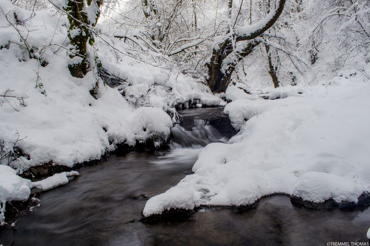a waterfall winter by tremmel thomas on 500px