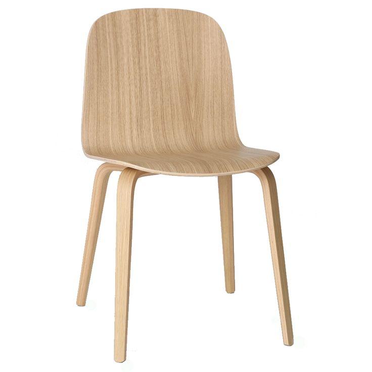 Visu tuoli, puujaloilla, tammi ryhmässä Huonekalut / Tuolit / Tuolit @ ROOM21.fi (123316)