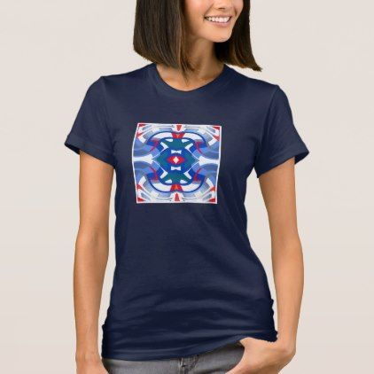 #women - #Fashion Shirt for Women- Red/White/Blue/Teal