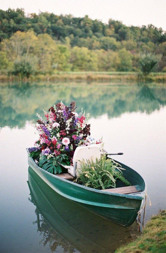 romantic boat ride #wedding #engagement #ideas