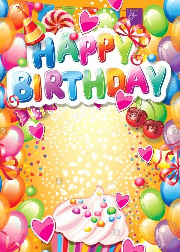 Birthday Card Template Photoshop Fresh Free 21 Birthday Card Templates In Psd Happy Birthday Cards Happy Birthday Words Happy Birthday Frame