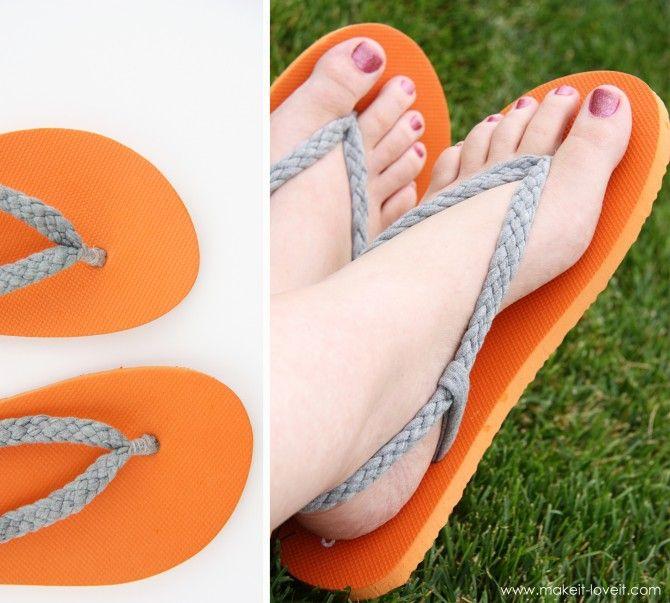 flip-flop makeover