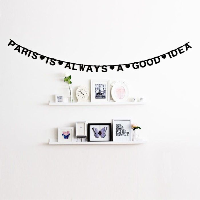 37 best DIY word banner images on Pinterest Child room, Baby room