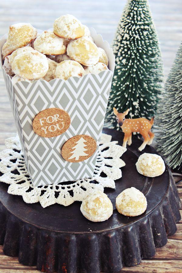 Weihnachtsbäckerei: Marzipan Vanille Hügel mit weißer Schokolade | s'Bastelkistle | Bloglovin'