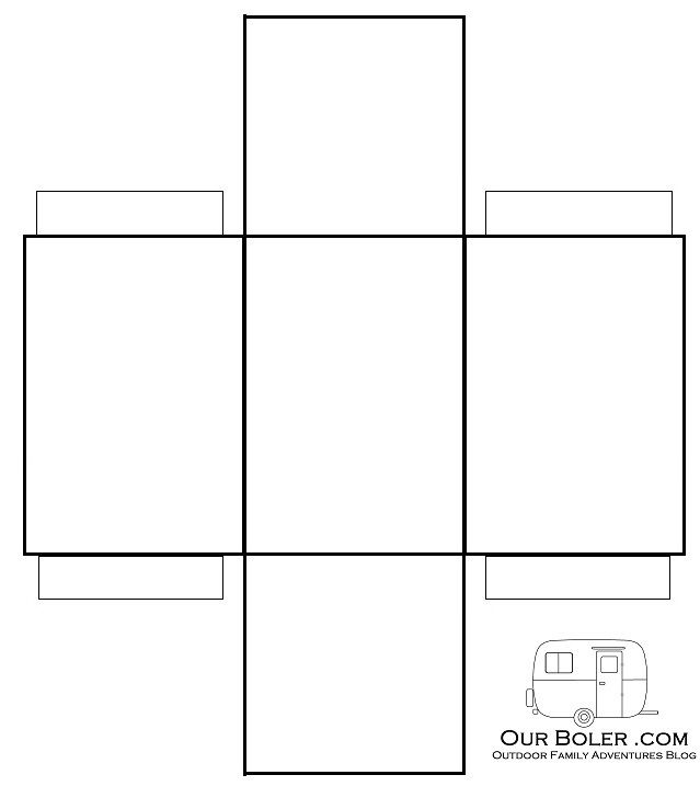 Paper Rectangle Box Template With Images Box Template Box