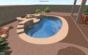 Called cocktail pool, small pool, spa-pool, often combined with other water features, a spool is the latest trend in water leisure at home. What is a spool?