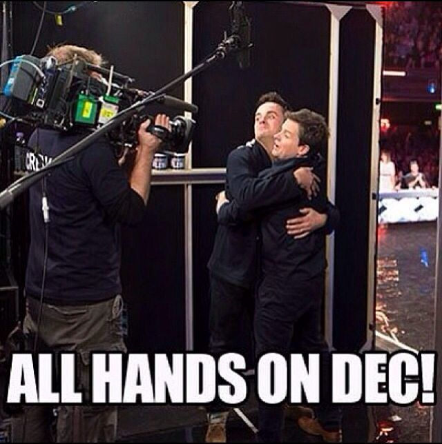 Ant and Dec on Britains got Talent