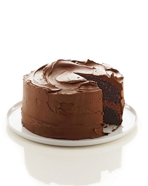 Martha Stewart chocolate cake recipe that I heard is phenomenal! One blogger said she hasn't used a boxed cake mix once since she's tried this recipe.