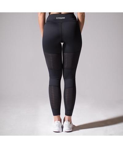 0426c913077cd GymJam Aura Mesh High Waisted Leggings Black-GymJam-Gym Wear ...