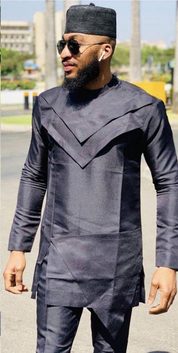 African men's clothing / African fashion/ wedding suit/dashiki / African men's shirt and pants/ vêtement africain/ chemise et pantalon