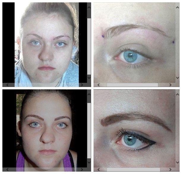 Eyebrow hairstroke & eyeliner. Vanderbijlpark - Marié Holtzhausen 083 692 2207