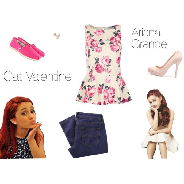 8 Best Cat Valentine Images On Pinterest Shoes, 2 In And Hair   Valentine  Clothing