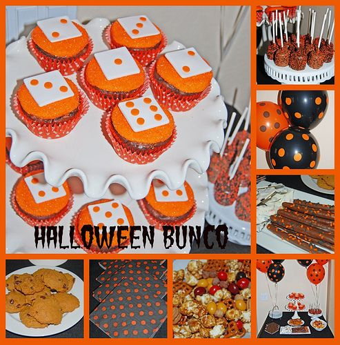 Halloween Bunco Dessert Buffet Collage | Flickr - Photo Sharing!