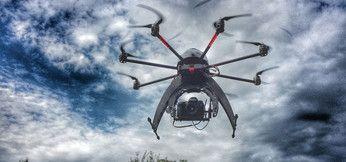 Droni in volo contro l'amianto e la dispersione termica