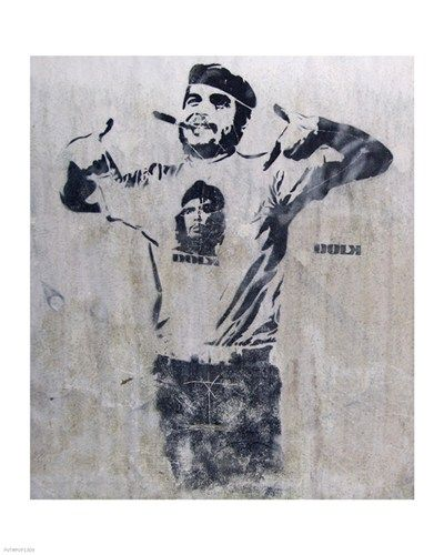 Che and Fidel, Norway Art Print by Banksy