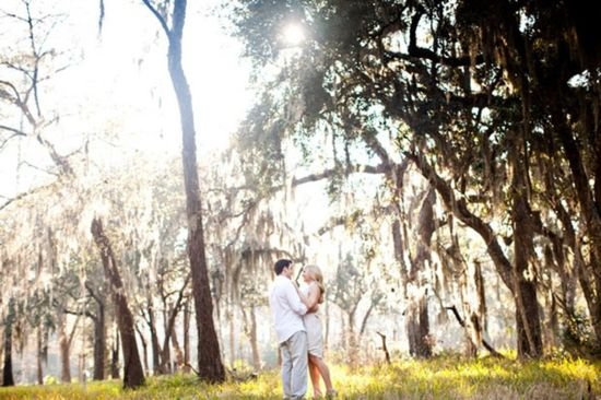 Southern Belle Wedding Traditions ✈ Spanish Moss