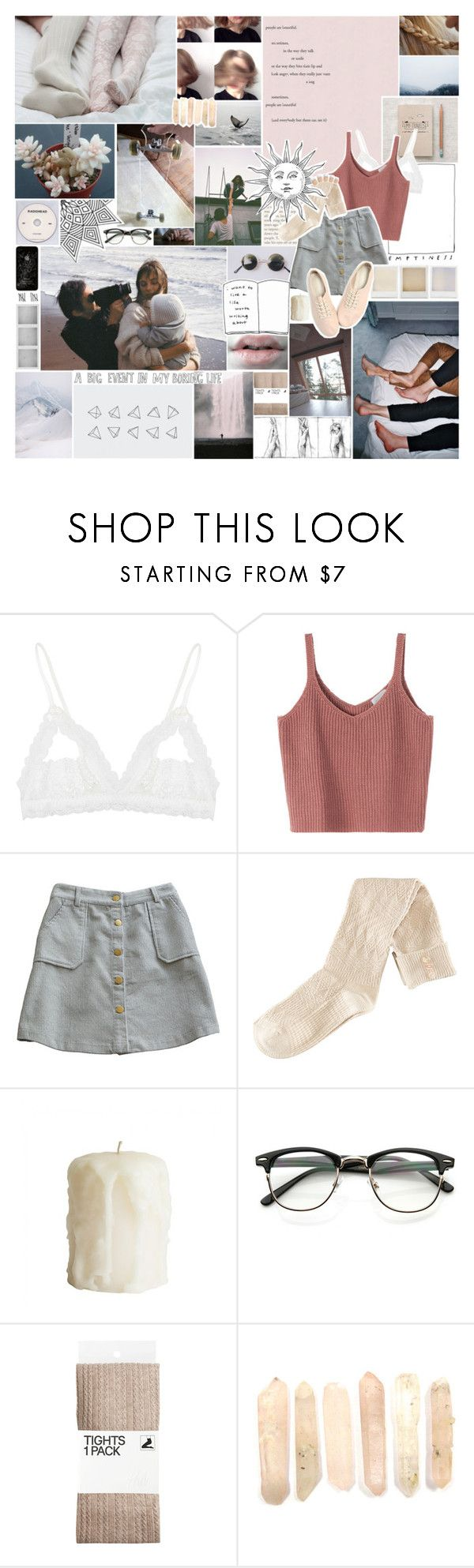 """""""i like it so well that for all i can tell i may never come down again..."""" by mist-on-the-meadow ❤ liked on Polyvore featuring Hanky Panky, H&M, Evil Twin, Holga and KEEP ME"""