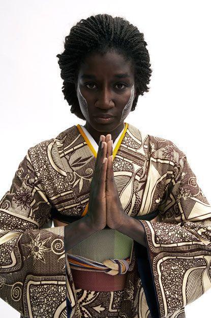 Mouangue-Serge. Cameroonian designer in japan