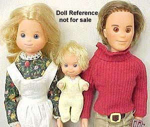 Holy crap! These are them! I thought I had Donnie and Marie dolls but it was definitely these Sunshine Family dolls. I was mad that I didn't get Barbie and Ken so I named them Mr. & Mrs. Cottage Cheese because I hated cottage cheese. What a little shit I was.