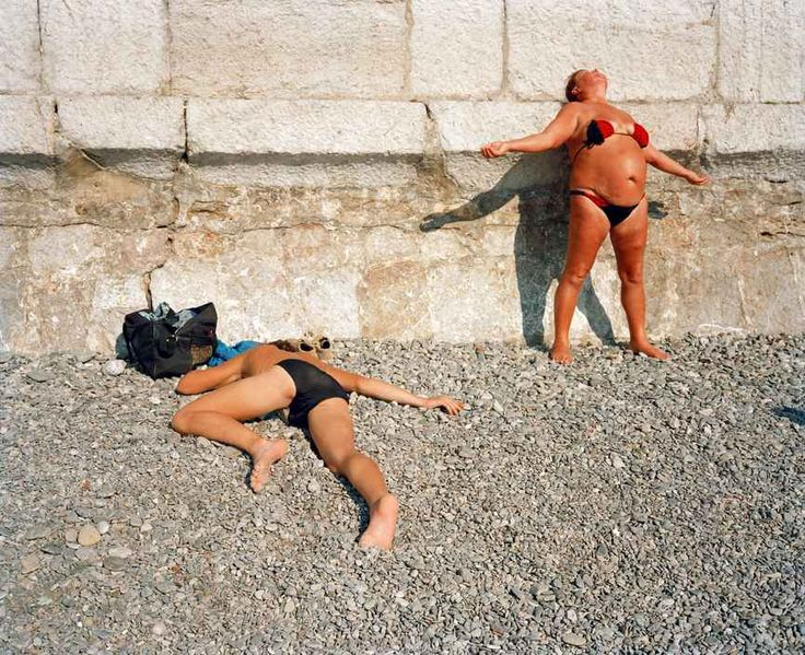 The city of Yalta on photos by Martin Parr | Photographs on the Brain
