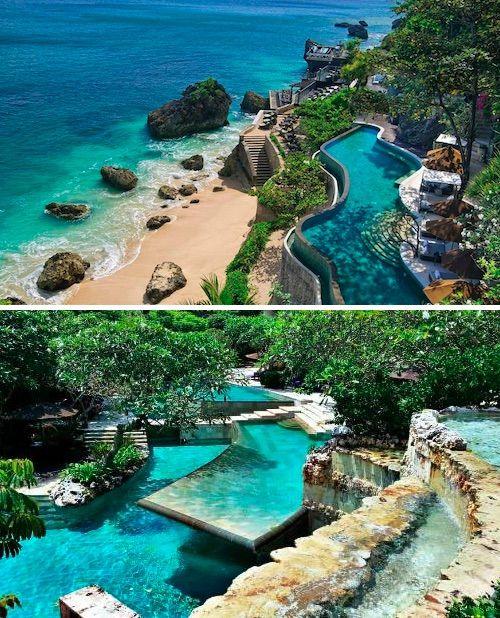 The stunning Ayana Resort, Jimbaran, Bali.