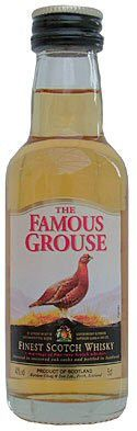 Buy FAMOUS GROUSE SCOTCH WHISKY MINI 40%, 50ML at just only at NZD4.99 from Liquor Mart.