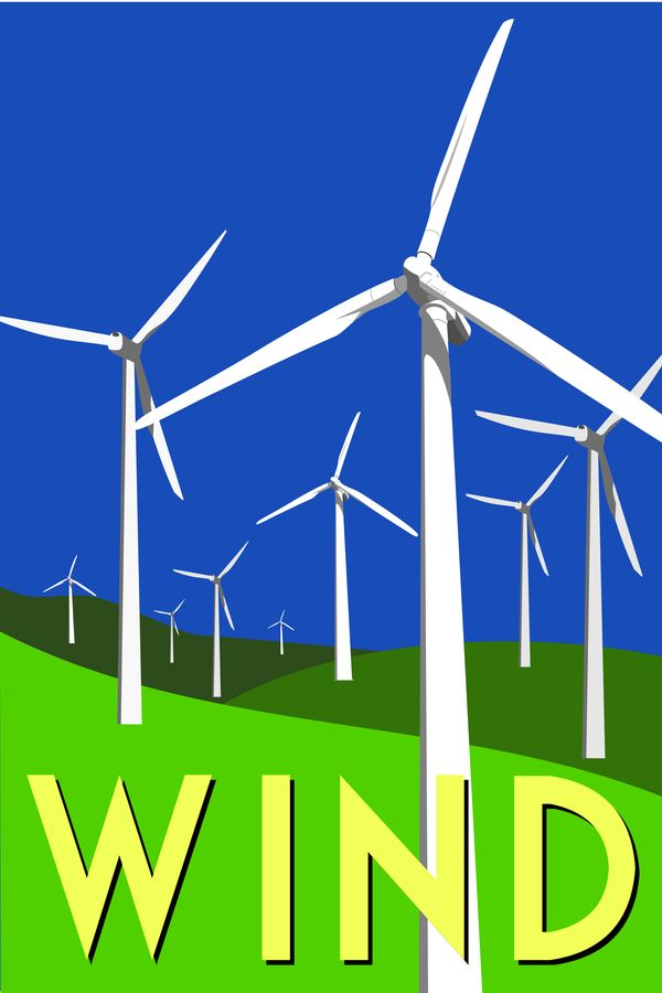 Alternative Energy Posters By Amanda Duck Via Behance