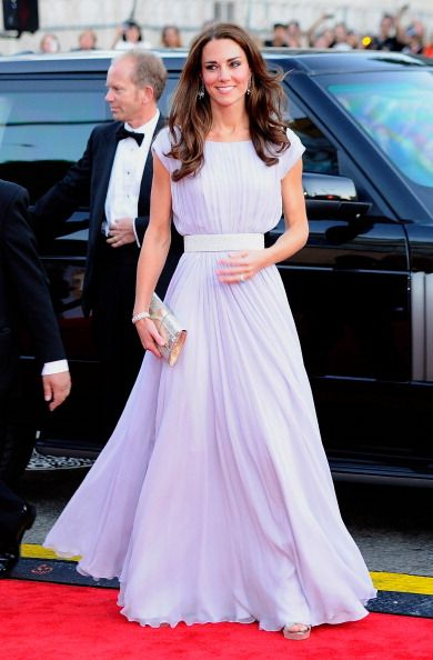 Kate Middleton in Alexander McQueen. She is seriously rocking my world right now.