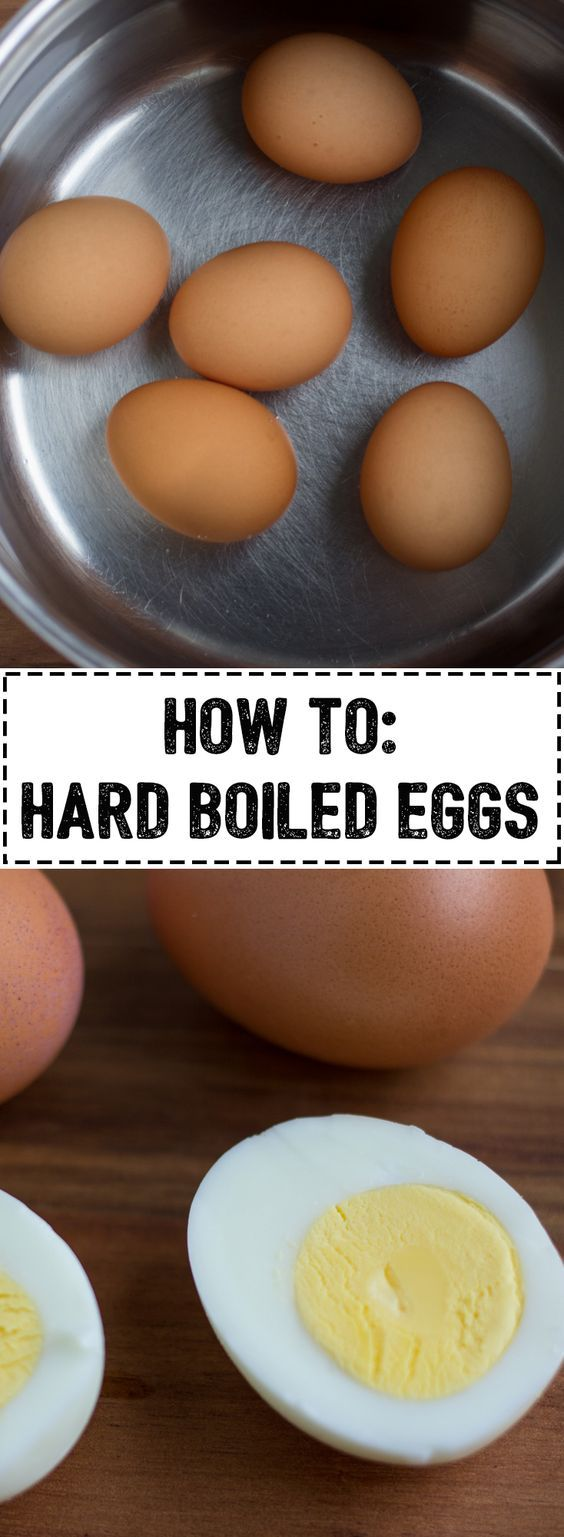 How To: Hard Boiled Eggs