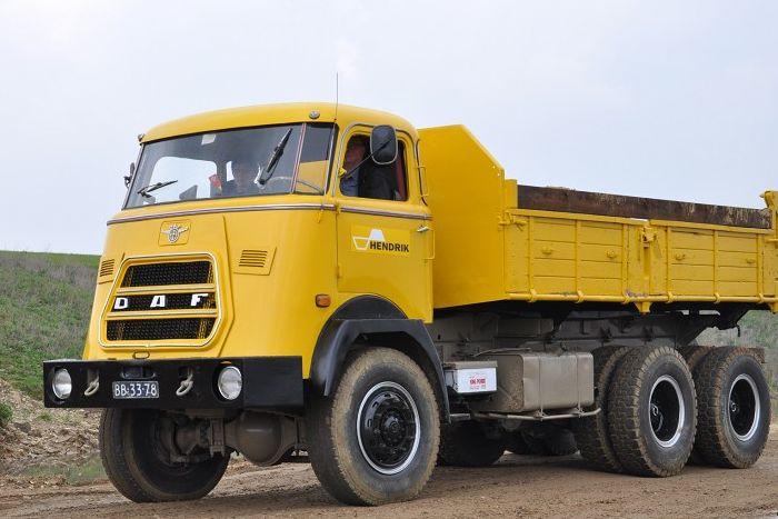 DAF AZ 1900 6x6 dump truck