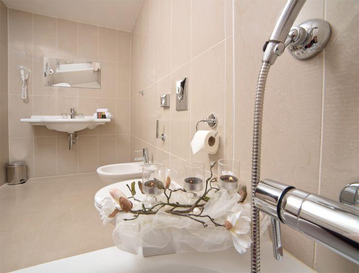 The bathroom in Beseda hotel