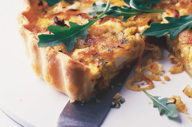 Sýrový koláč | Apetitonline.cz