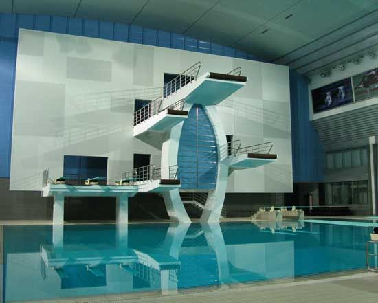 17 best images about diving pools on pinterest water for Residential swimming pool dimensions in meters