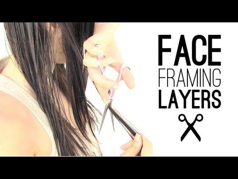 Face framing layers.