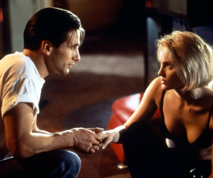 William Baldwin and Sharon Stone in Sliver