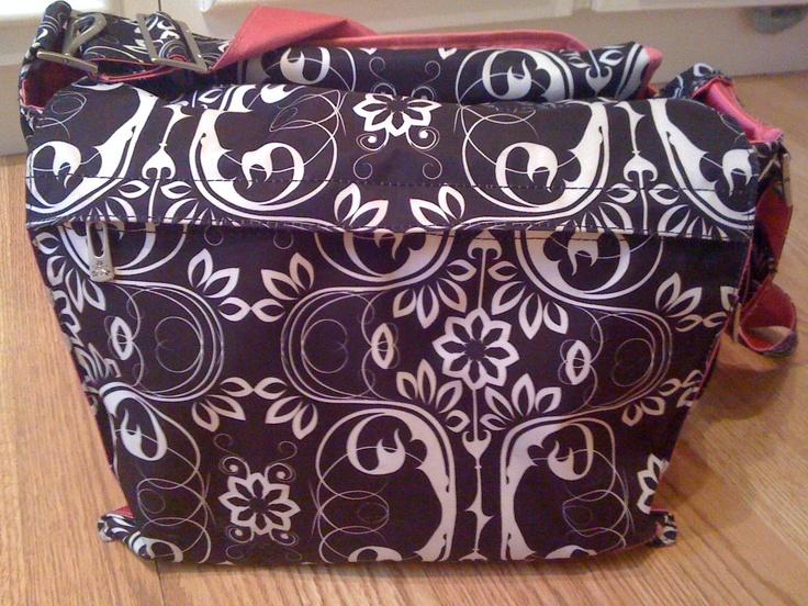 Day 26 Black & White. I love the pattern on my JuJuBe Be-All diaper bag!  http://shop.ju-ju-be.com//Be-All-at-Ju-Ju-Be-PID10697-05MM01D.aspx